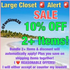 Summer Savings! New Inventory in New Categories